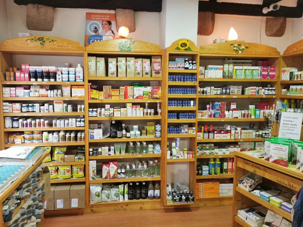 Boutique Natur'l à Colmar intérieur
